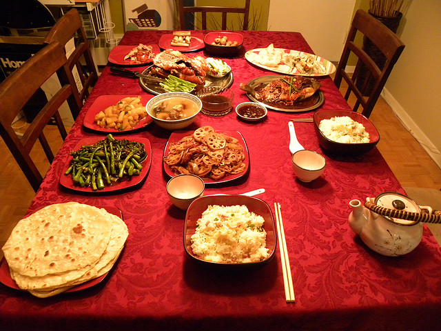 chinese new year dinner by mayieve - Chinese New Year Dinner