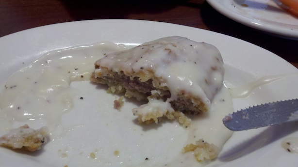 Julwin's country fried steak - side, must have for breakfast