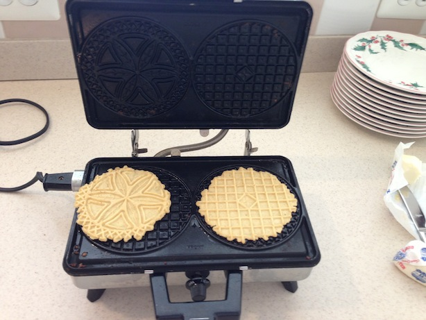 Pizzelles in the Press
