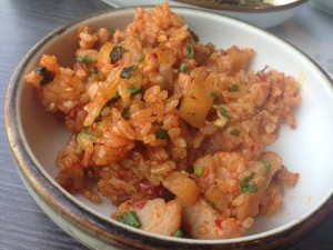 Tripe spicy rice