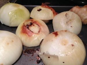 Charred onion