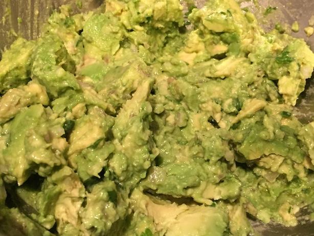 Smashed guacamole - 3